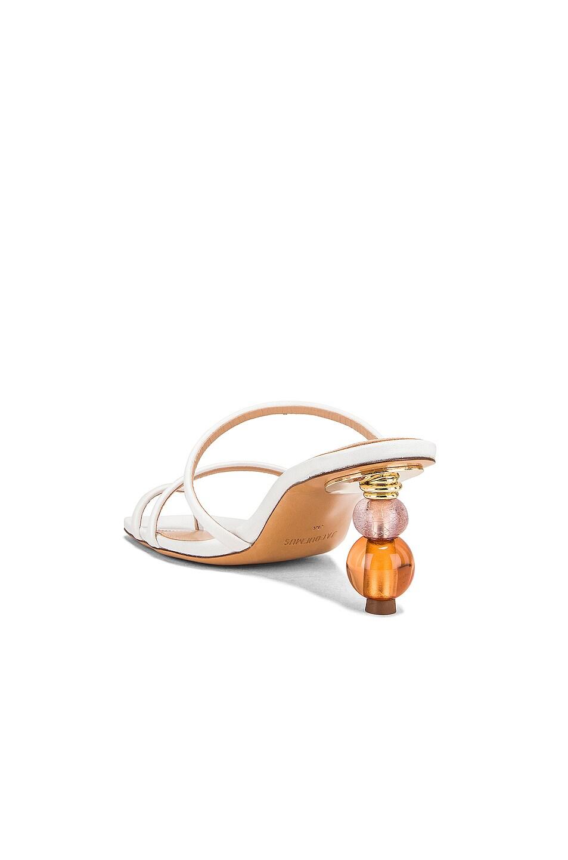 Image 3 of JACQUEMUS Noli Sandals in White