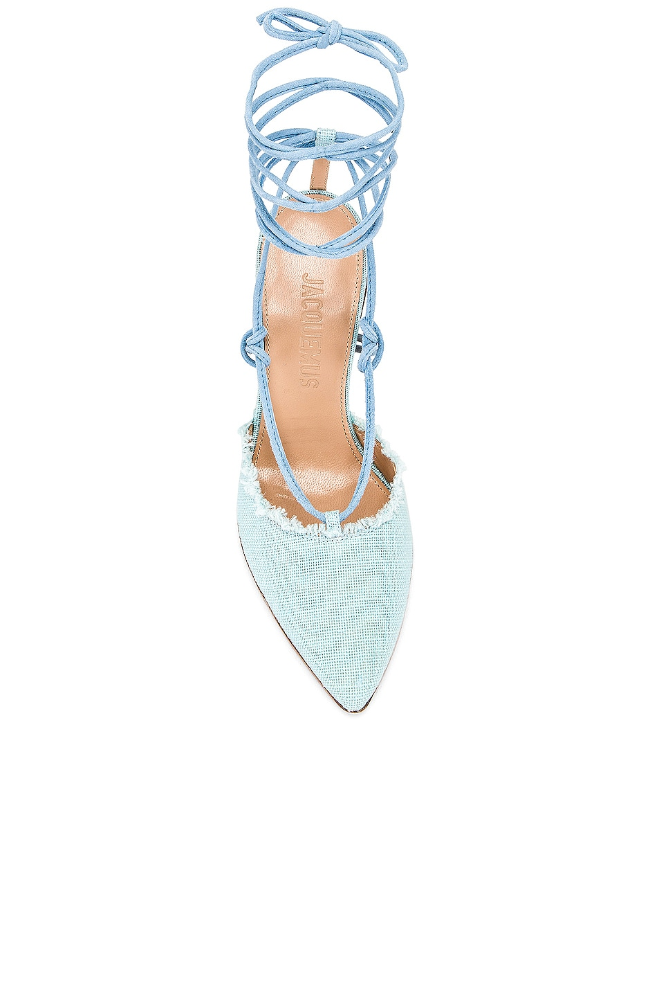 Image 4 of JACQUEMUS Chaussures Riviera Sandal in Light Blue