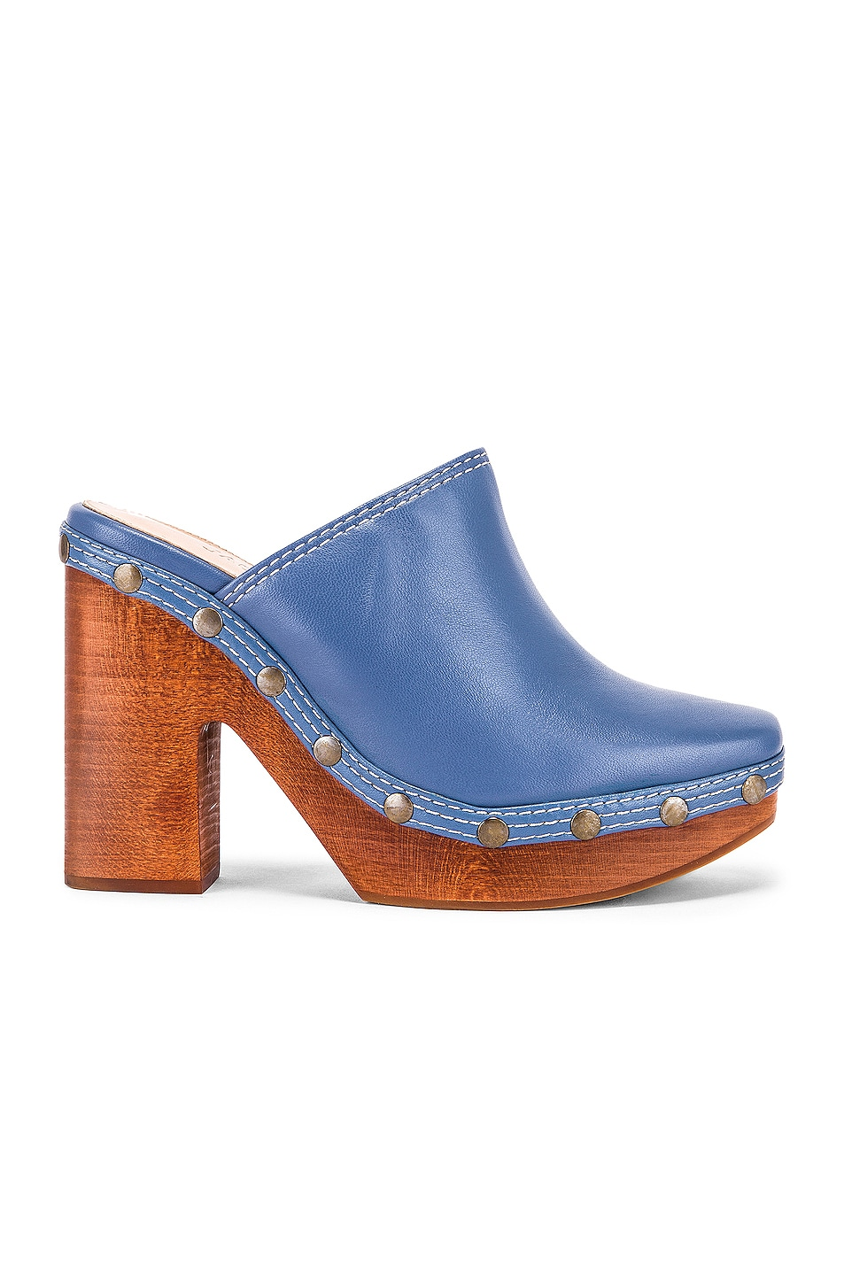 Image 1 of JACQUEMUS Clog Mule in Light Blue