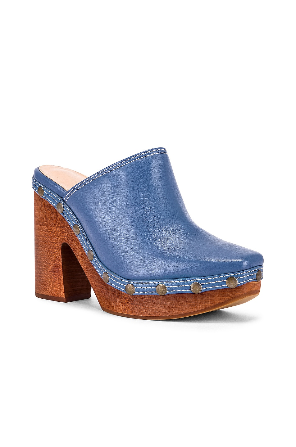 Image 2 of JACQUEMUS Clog Mule in Light Blue