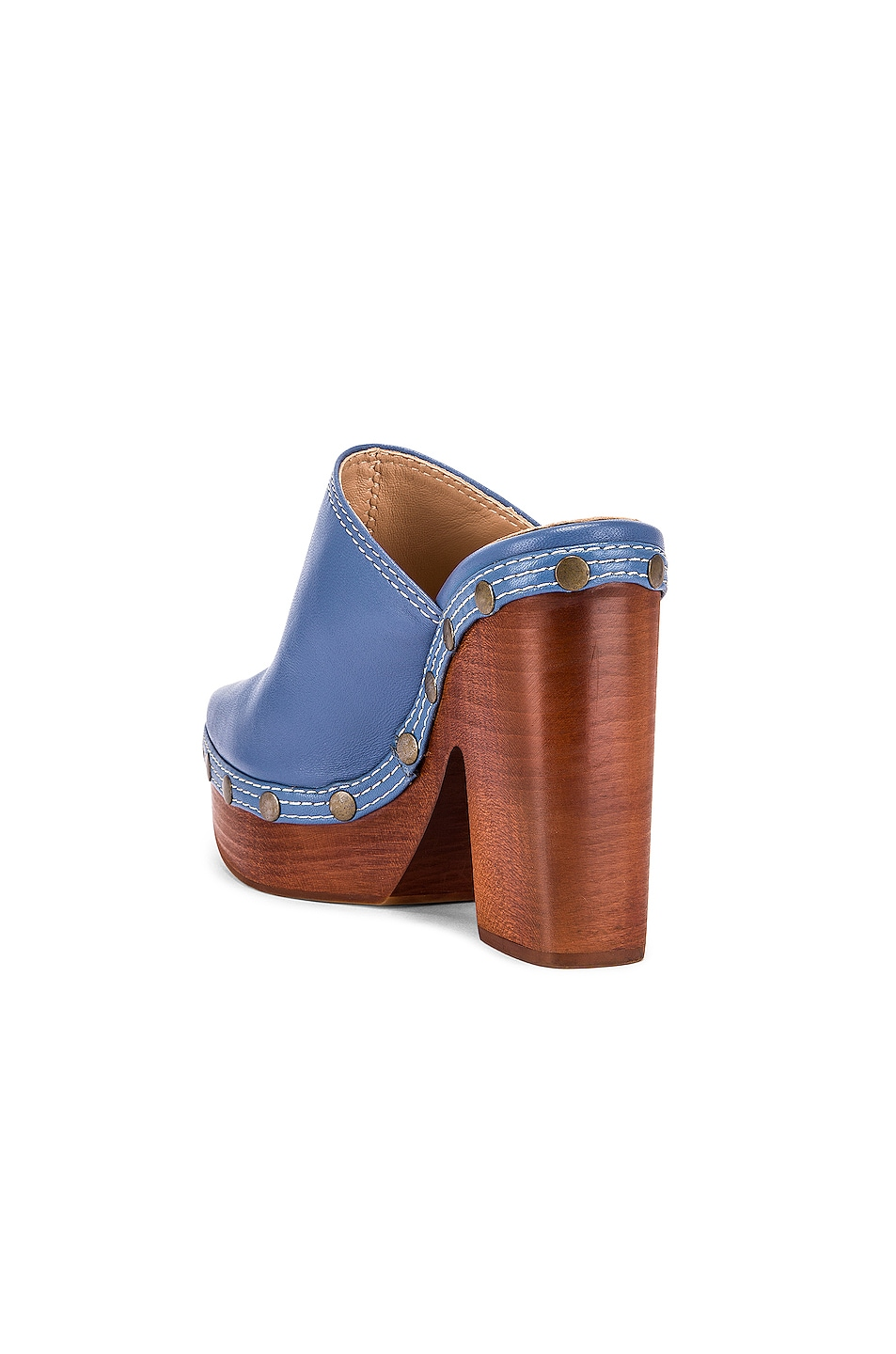 Image 3 of JACQUEMUS Clog Mule in Light Blue