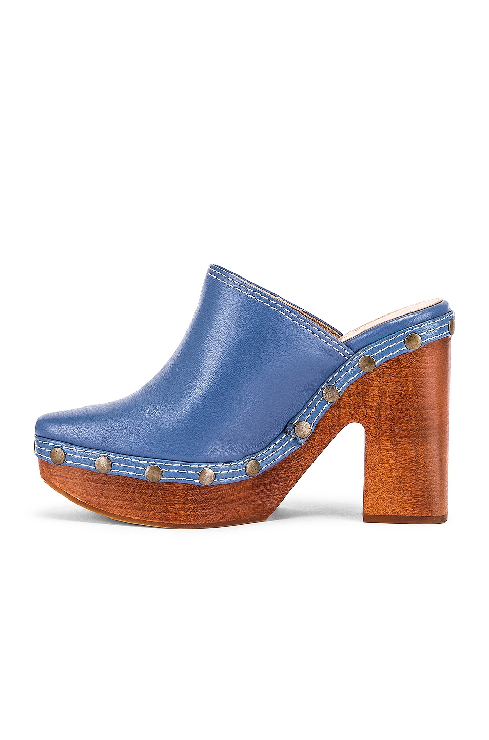Image 5 of JACQUEMUS Clog Mule in Light Blue