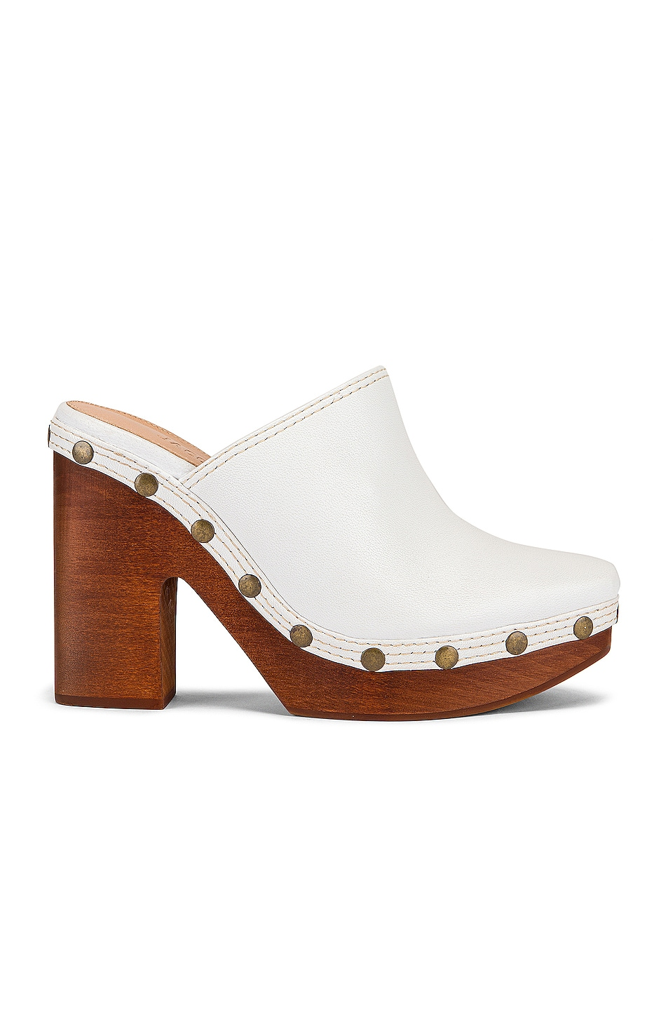 Image 1 of JACQUEMUS Clog Mule in White