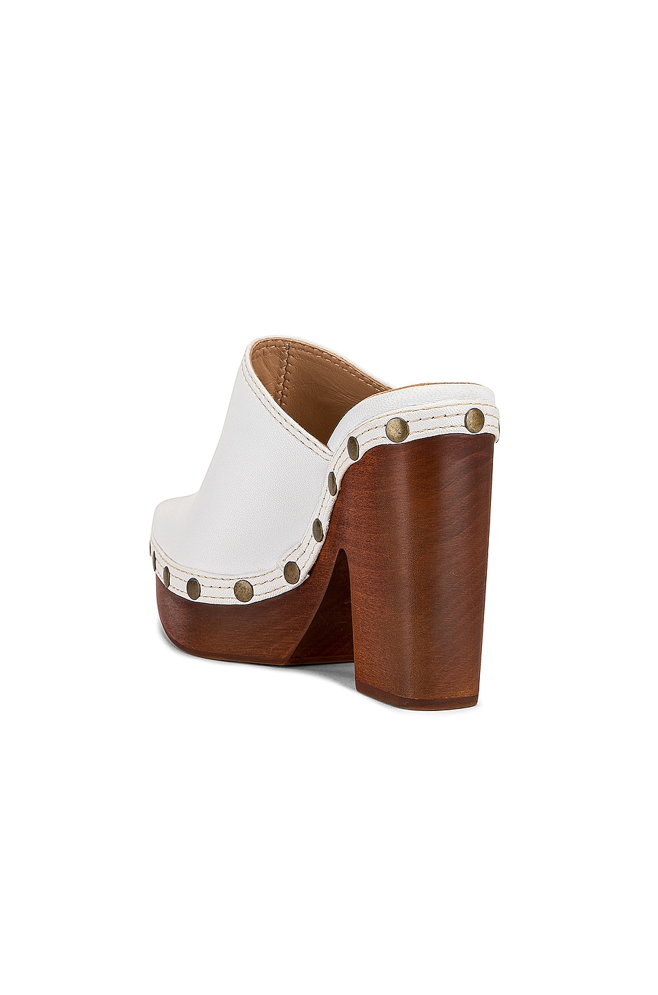 Image 3 of JACQUEMUS Clog Mule in White