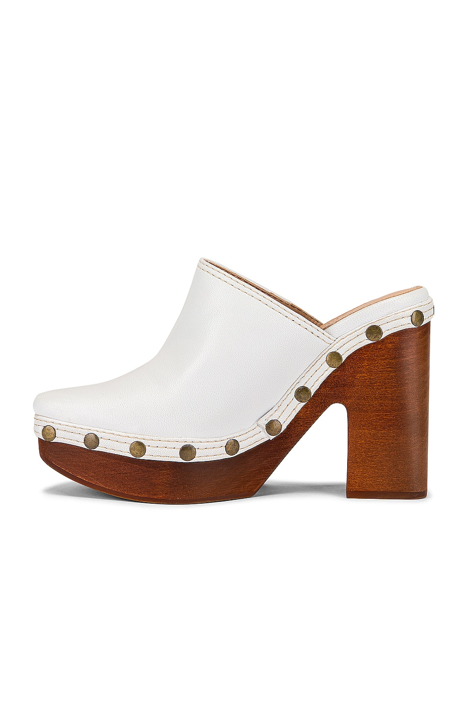 Image 5 of JACQUEMUS Clog Mule in White