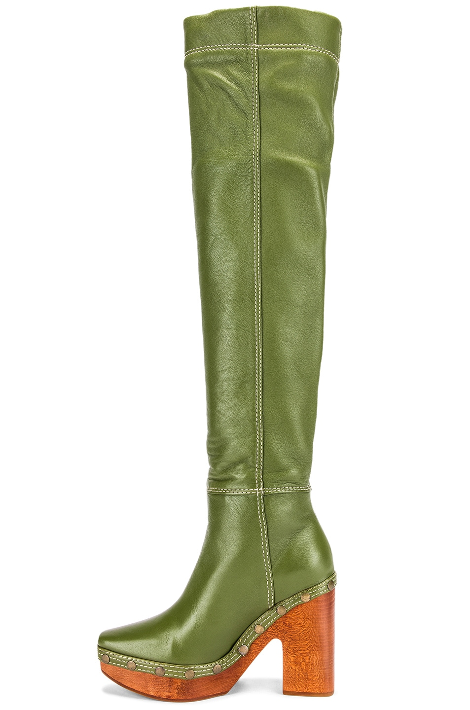 Image 5 of JACQUEMUS Boot in Green