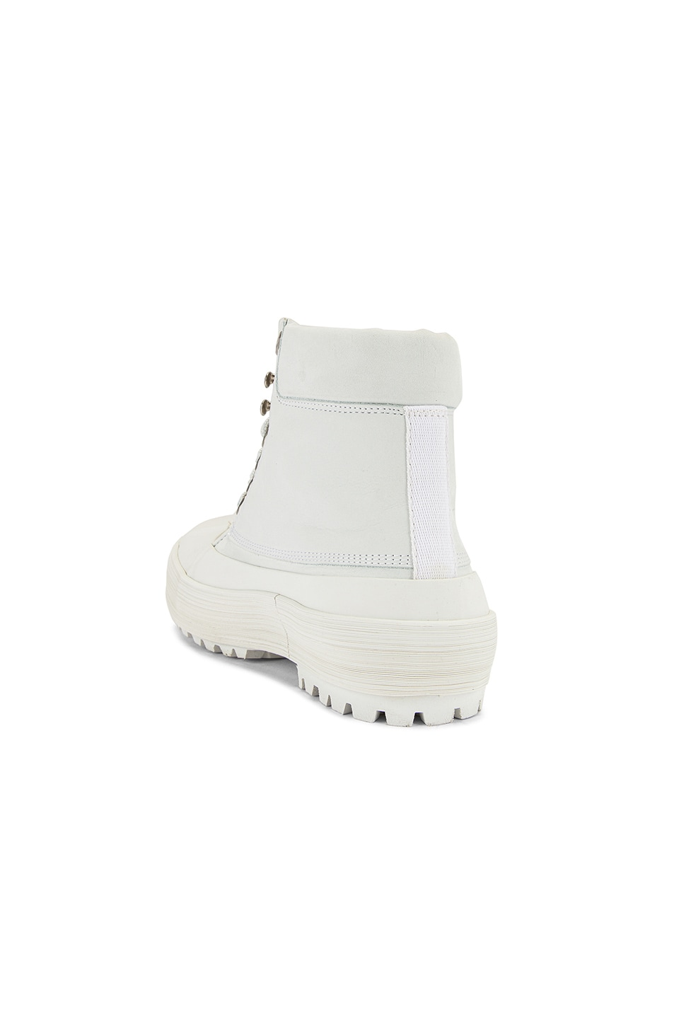 Image 3 of JACQUEMUS High Top Boot in White