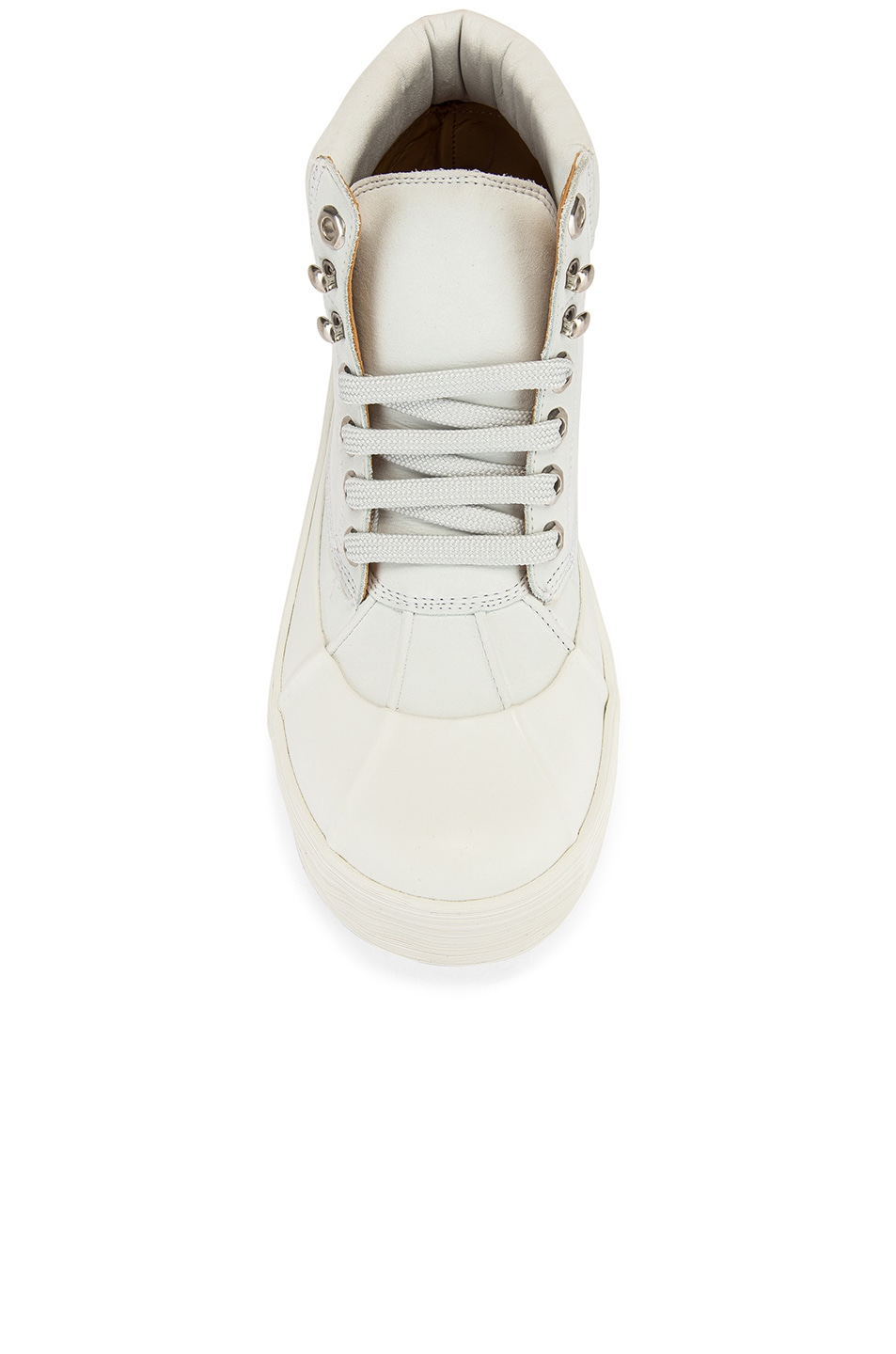 Image 4 of JACQUEMUS High Top Boot in White