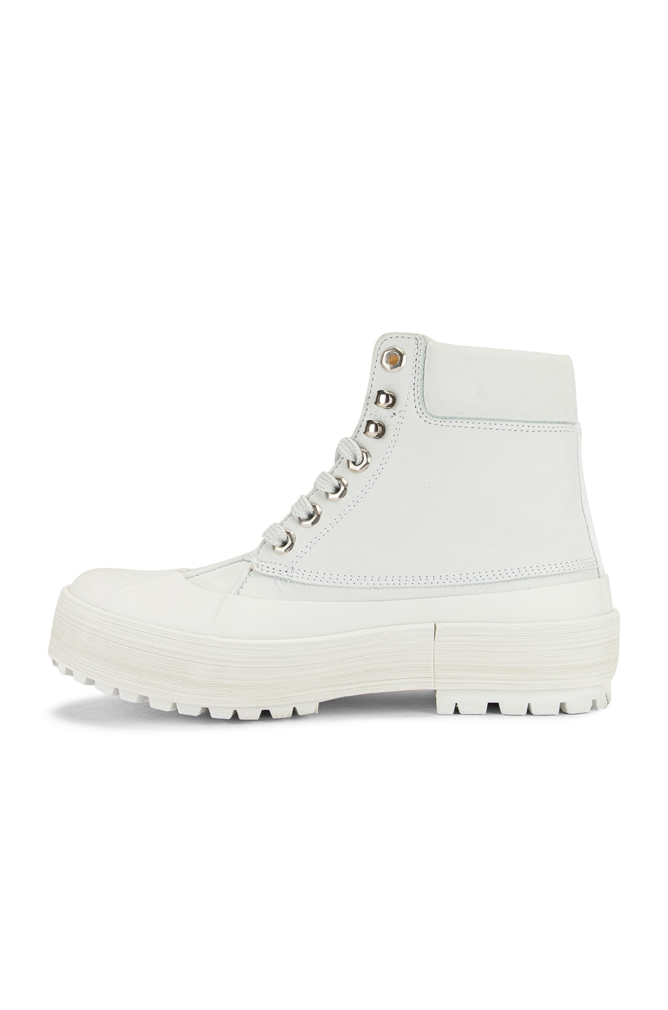 Image 5 of JACQUEMUS High Top Boot in White