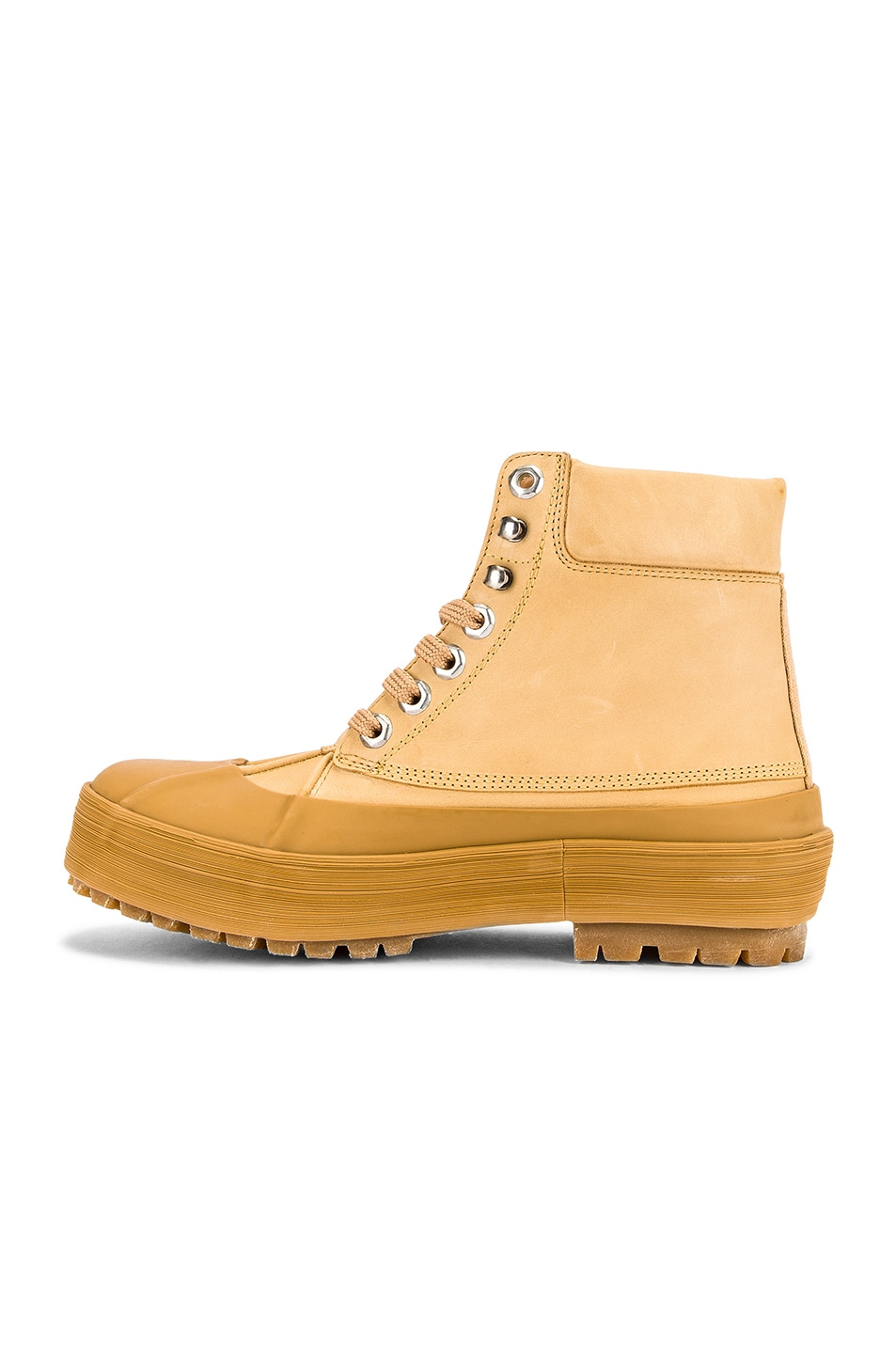 Image 5 of JACQUEMUS High Top Boot in Camel