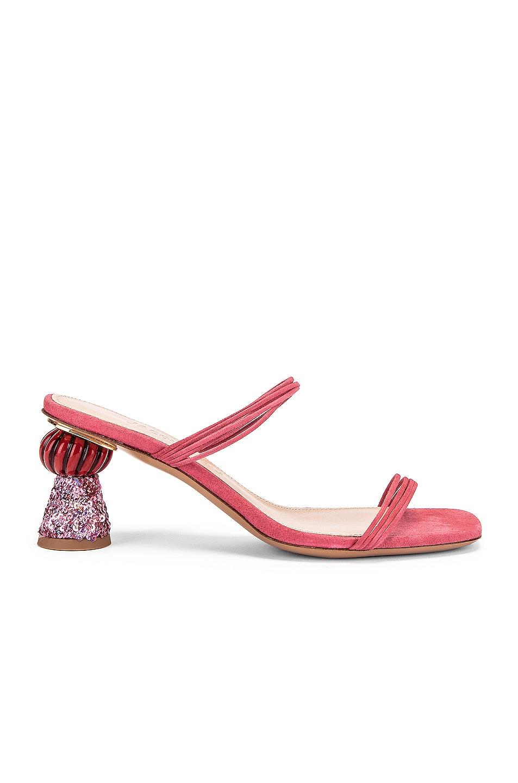 Image 1 of JACQUEMUS Les Mules Vallena in Pink