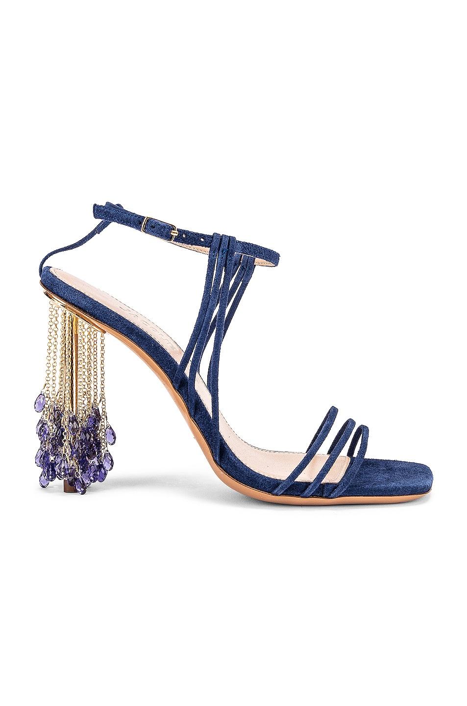 Image 1 of JACQUEMUS Les Sandales Lavandes in Blue