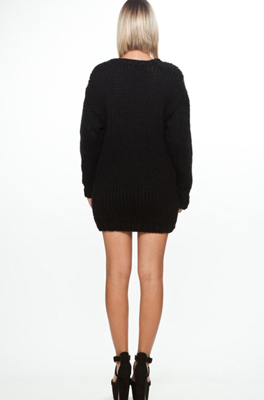 Image 4 of Jeremy Scott Skeleton Big Sweater in Black/White