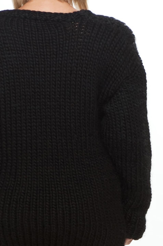 Image 8 of Jeremy Scott Skeleton Big Sweater in Black/White