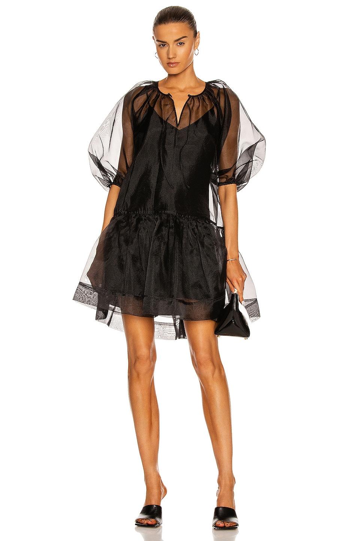 Image 1 of JONATHAN SIMKHAI Everlee Mini Dress in Black
