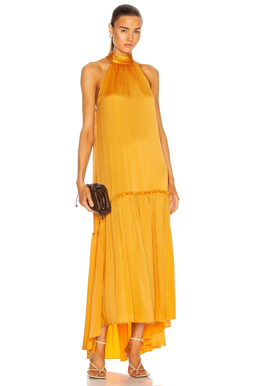 Image 1 of JONATHAN SIMKHAI Anessa Hi Low Dress in Pixie