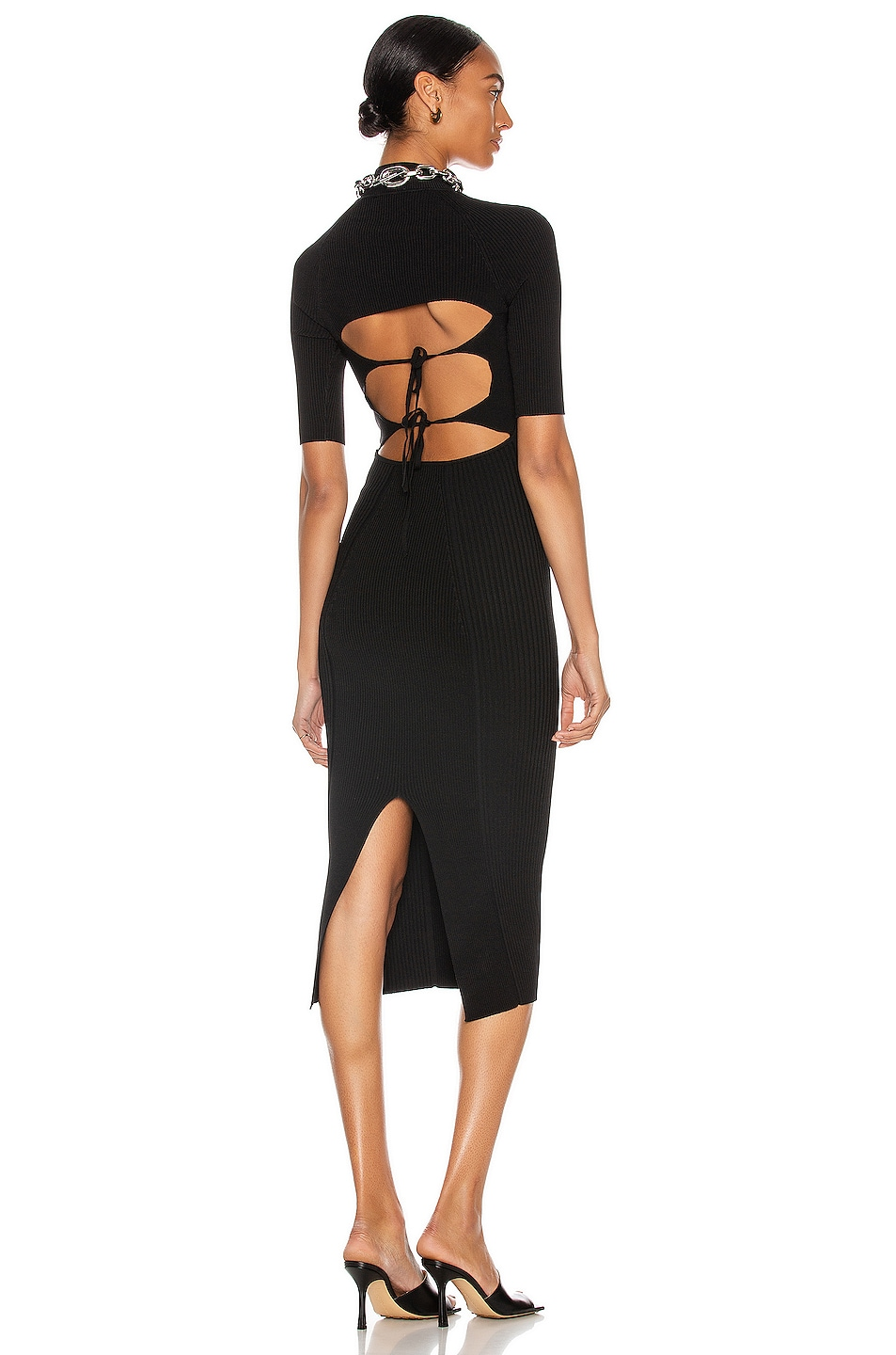 Image 1 of JONATHAN SIMKHAI Margaux Dress in Black