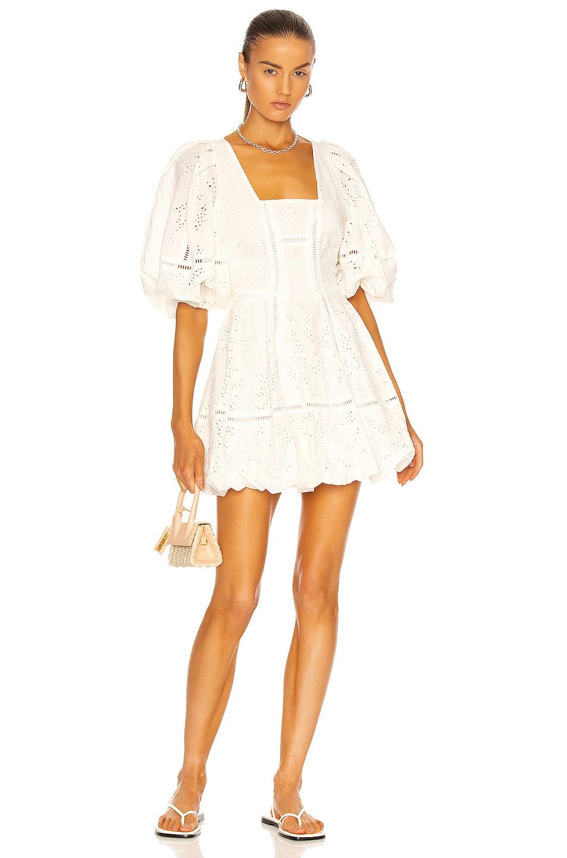 Image 1 of JONATHAN SIMKHAI Brynn Mini Dress in White