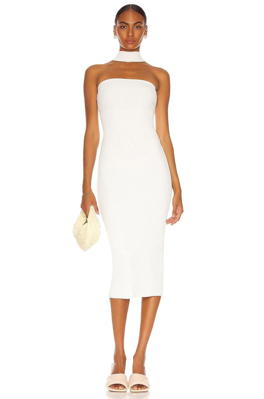 Image 1 of JONATHAN SIMKHAI Selena Tube Dress in White