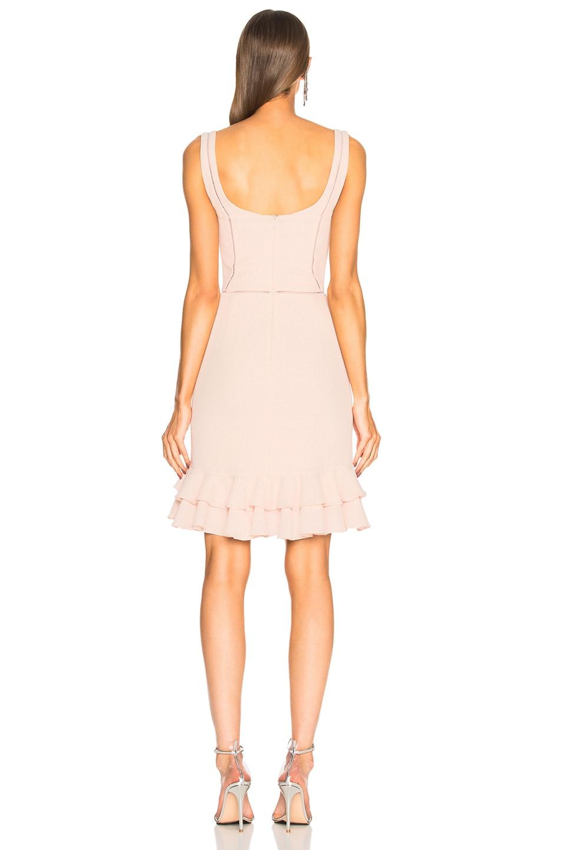 Image 3 of JONATHAN SIMKHAI Seersucker Bustier Mini Dress in Powder Pink