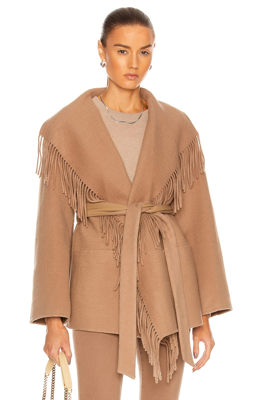 Image 1 of JONATHAN SIMKHAI Rowen Jacket in Camel