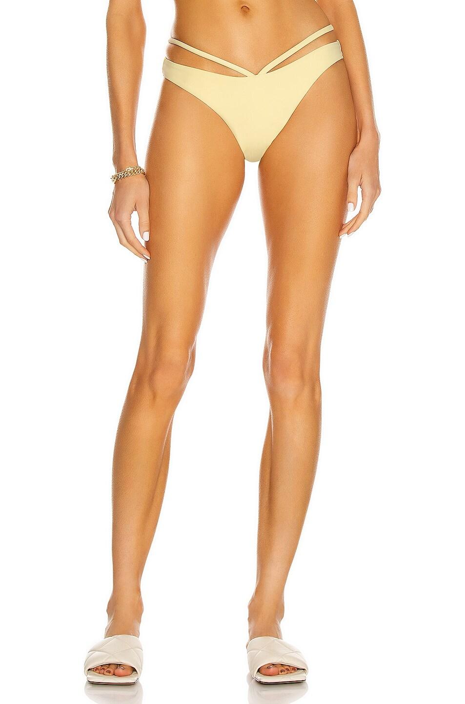Image 1 of JONATHAN SIMKHAI Emmalynn Bikini Bottom in Buttercup