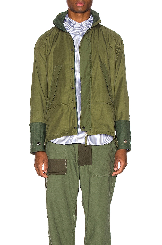 Image 1 of Junya Watanabe Rain Jacket in Khaki