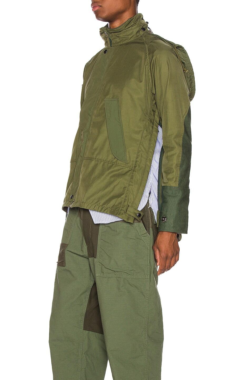 Image 4 of Junya Watanabe Rain Jacket in Khaki