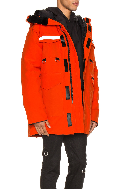 Image 3 of Junya Watanabe x Canada Goose Jacket in Orange