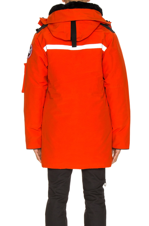 Image 5 of Junya Watanabe x Canada Goose Jacket in Orange