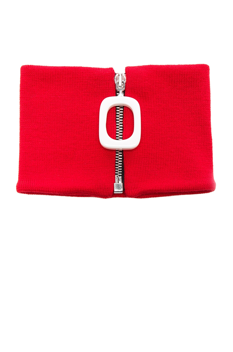 Image 1 of JW Anderson Jwa Neckband in Pillabox Red
