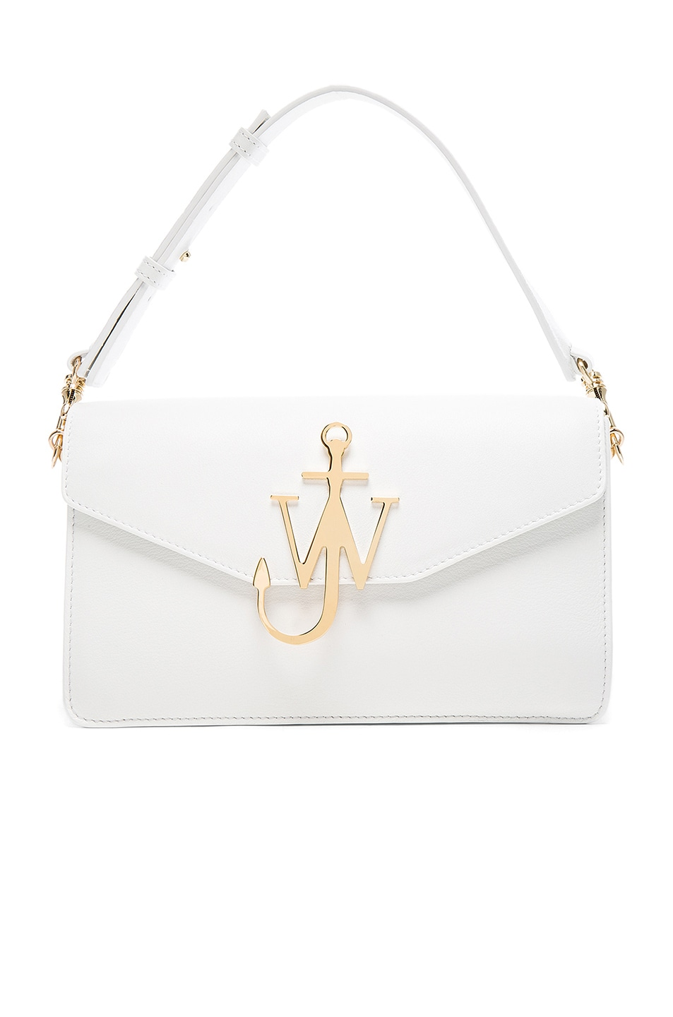 Image 1 of J.W. Anderson Logo Purse in White