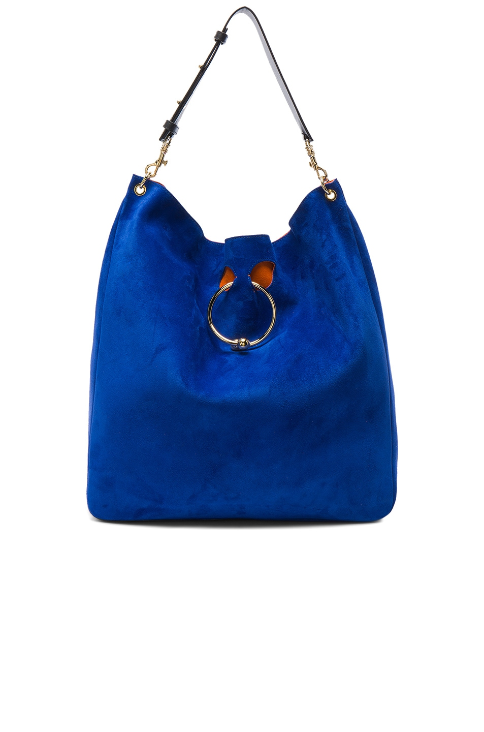 Image 1 of J.W. Anderson Large Pierce Hobo Bag in Royal Blue