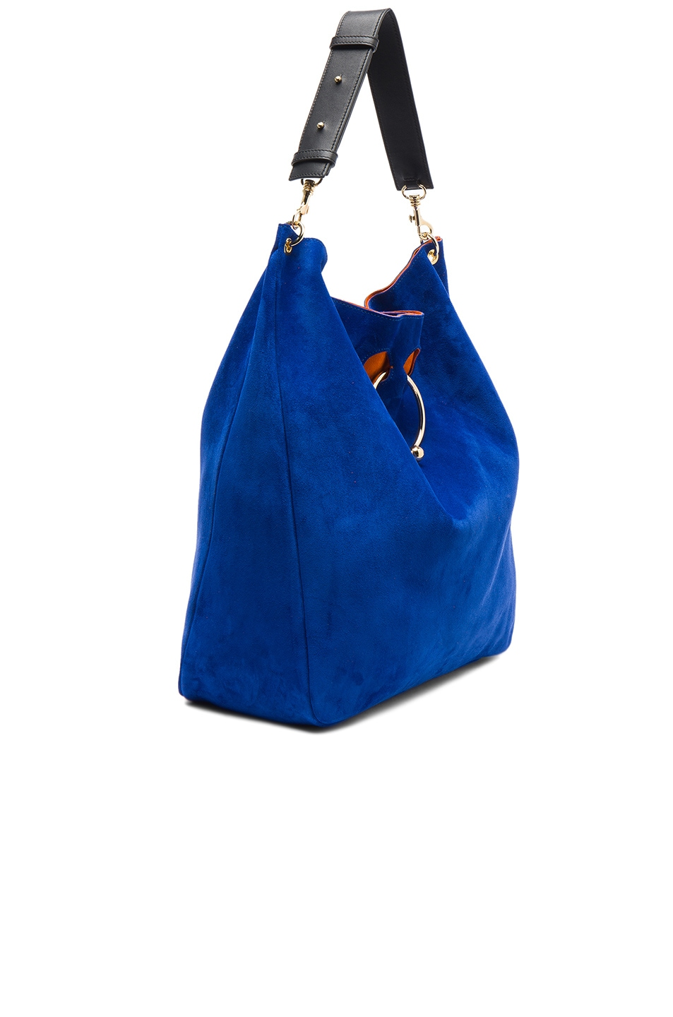 Image 3 of J.W. Anderson Large Pierce Hobo Bag in Royal Blue