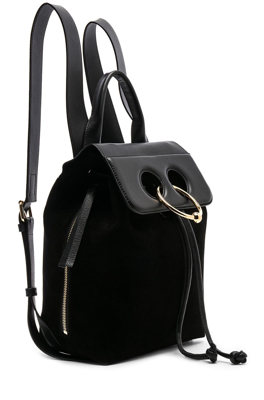 Image 4 of JW Anderson Mini Pierce Backpack in Black