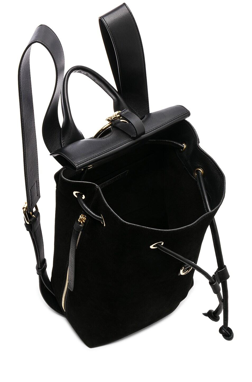 Image 5 of JW Anderson Mini Pierce Backpack in Black