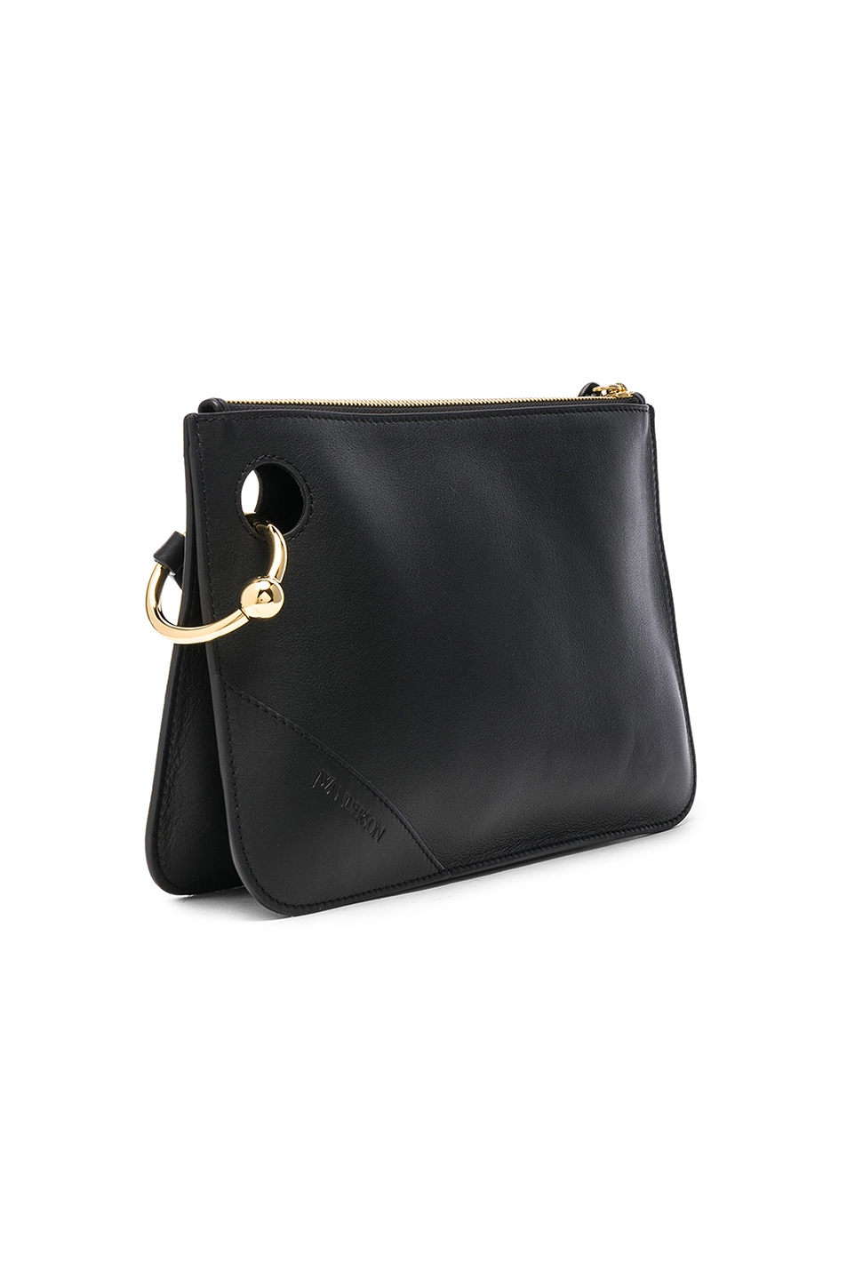 Image 4 of JW Anderson Pierce Clutch in Black