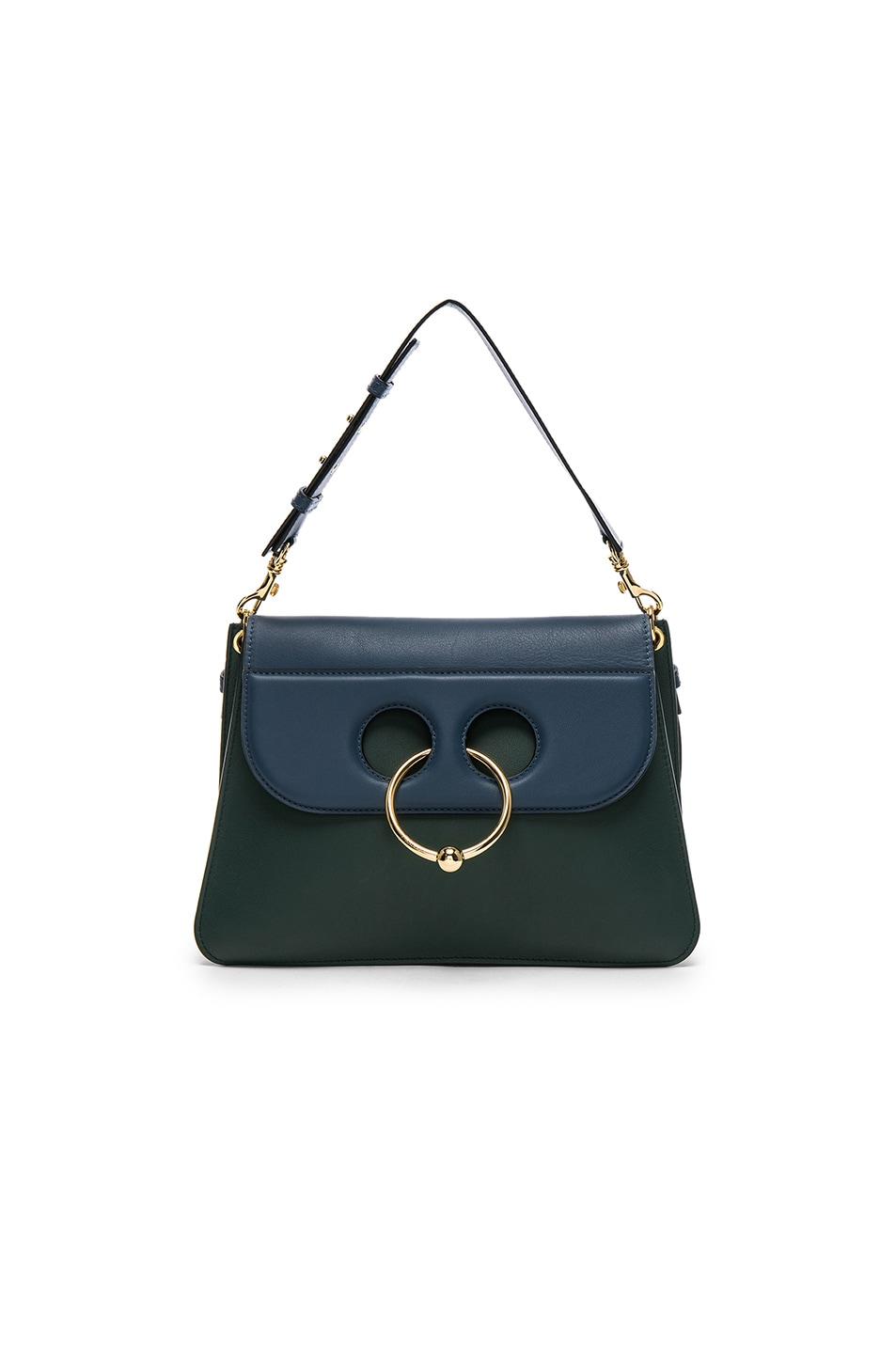 Image 1 of JW Anderson Medium Pierce Bag in Selva