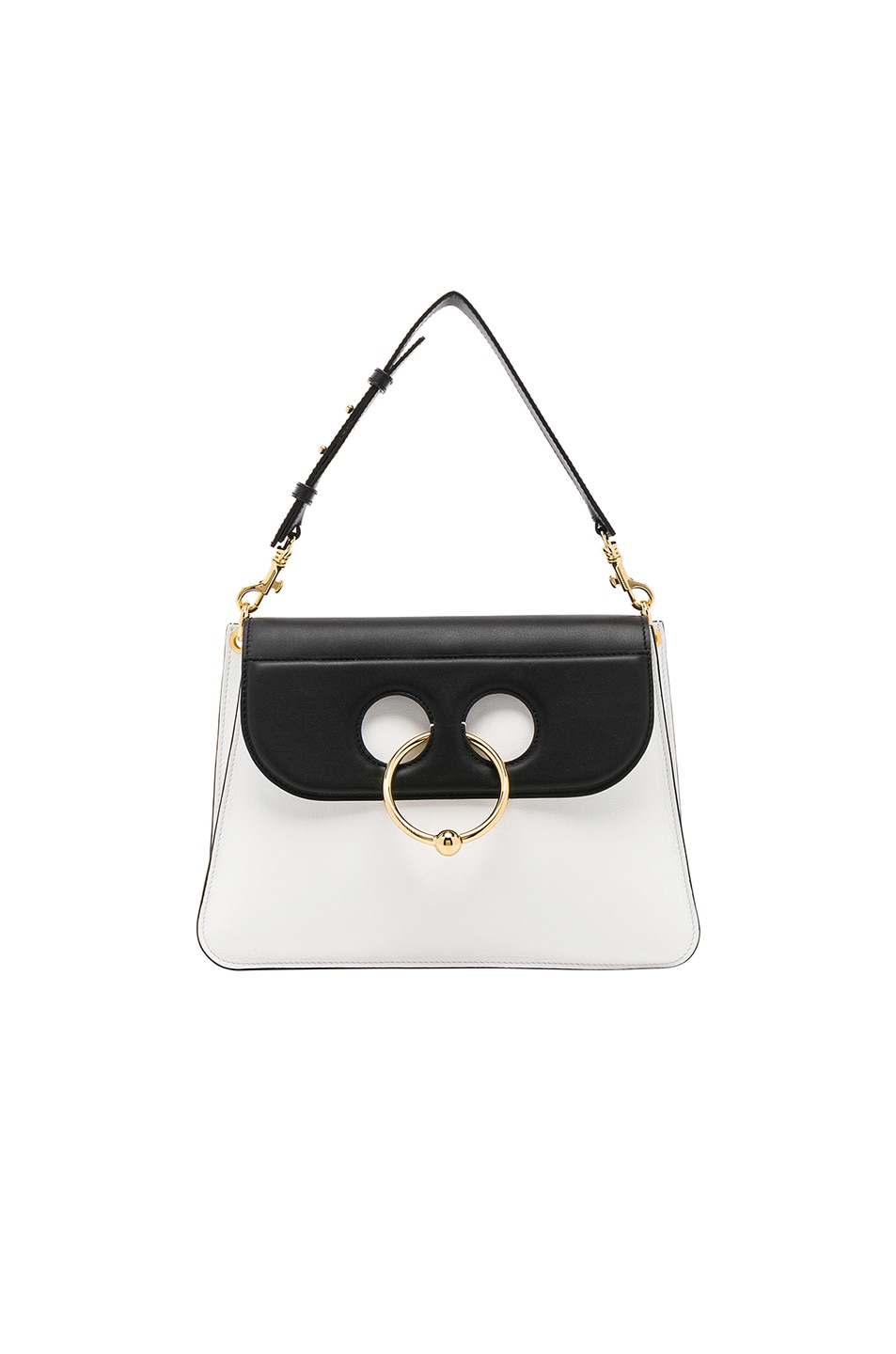 3a021d62d2ce Image 1 of JW Anderson Medium Pierce Bag in White   Black