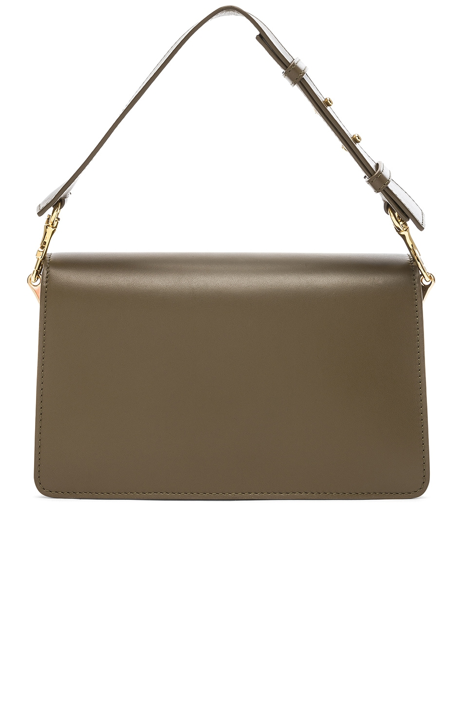 Image 3 of JW Anderson Logo Purse in Military Green