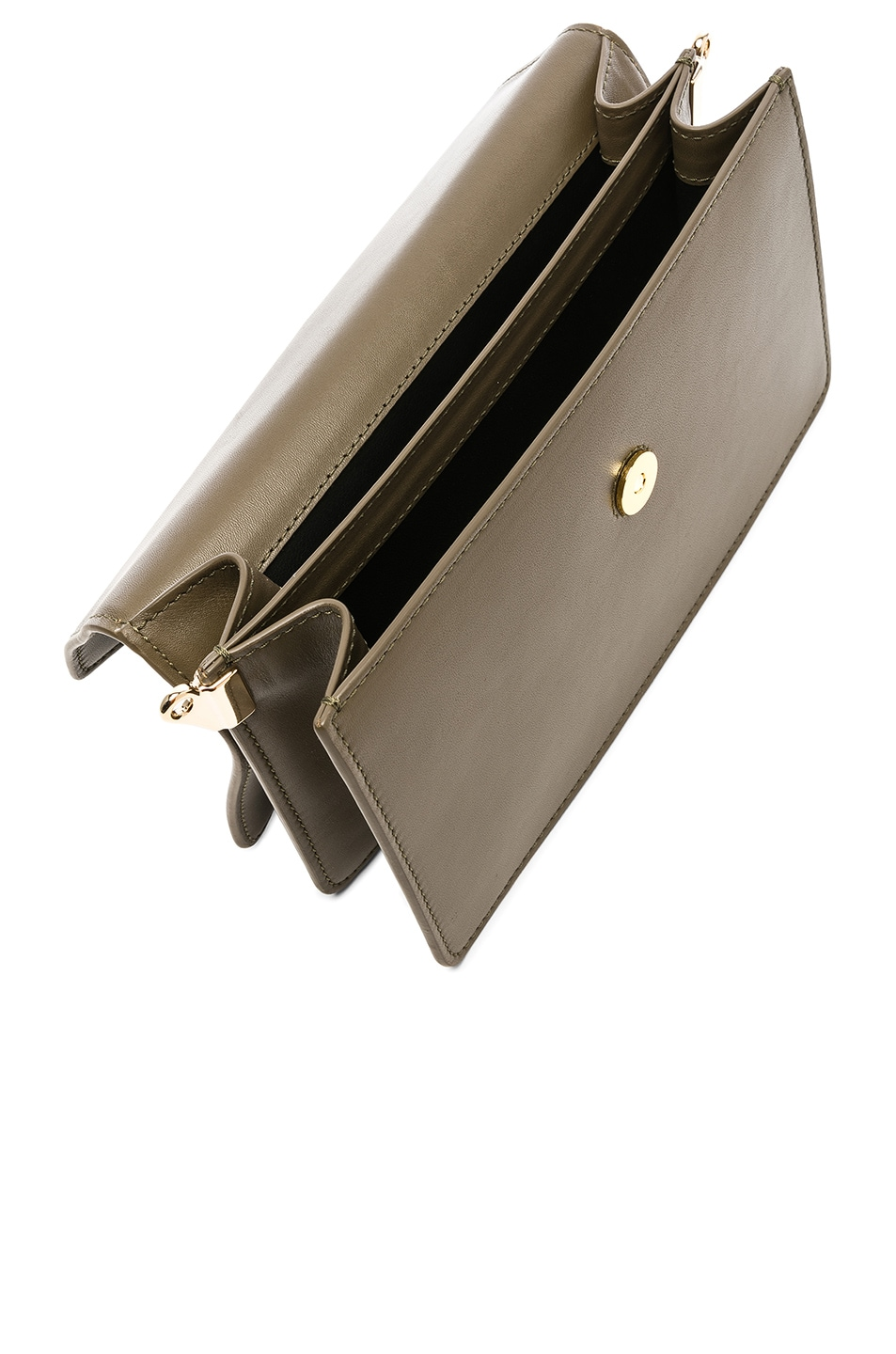 Image 5 of JW Anderson Logo Purse in Military Green