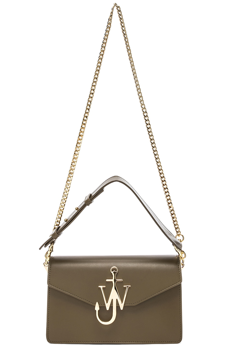 Image 6 of JW Anderson Logo Purse in Military Green