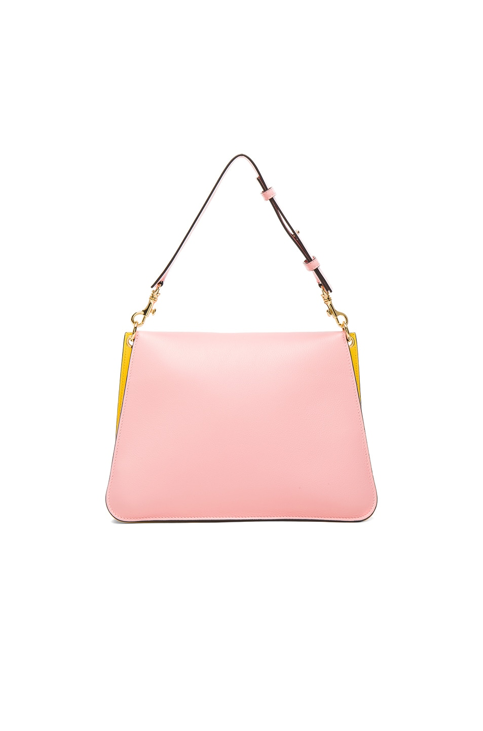 Image 2 of J.W. Anderson Medium Pierce Bag in Yellow & Bubble Gum