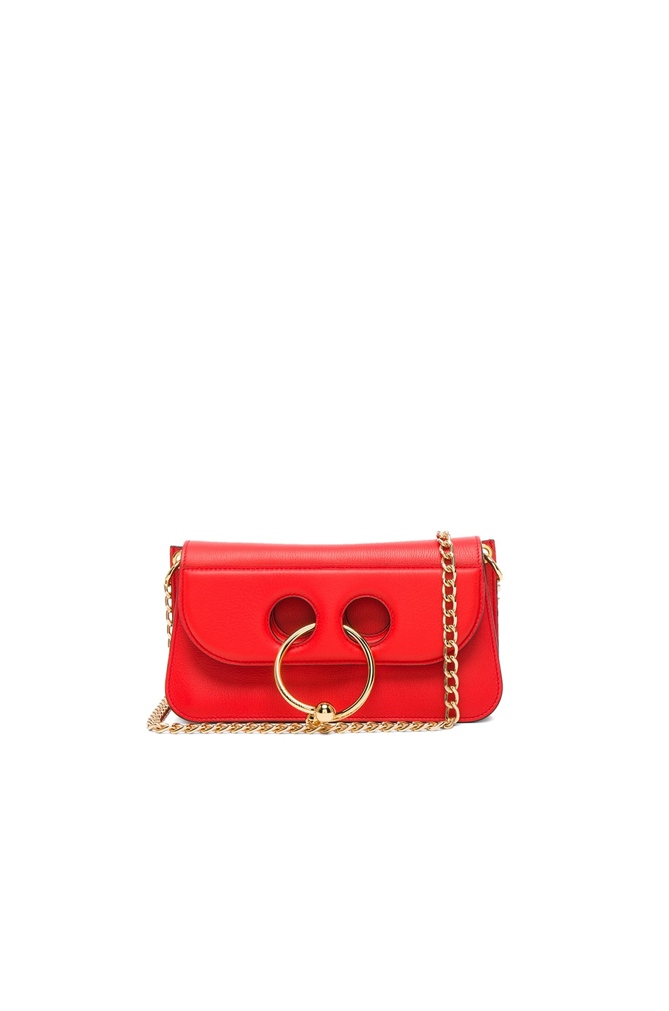 Image 1 of JW Anderson Small Pierce Bag in Scarlet