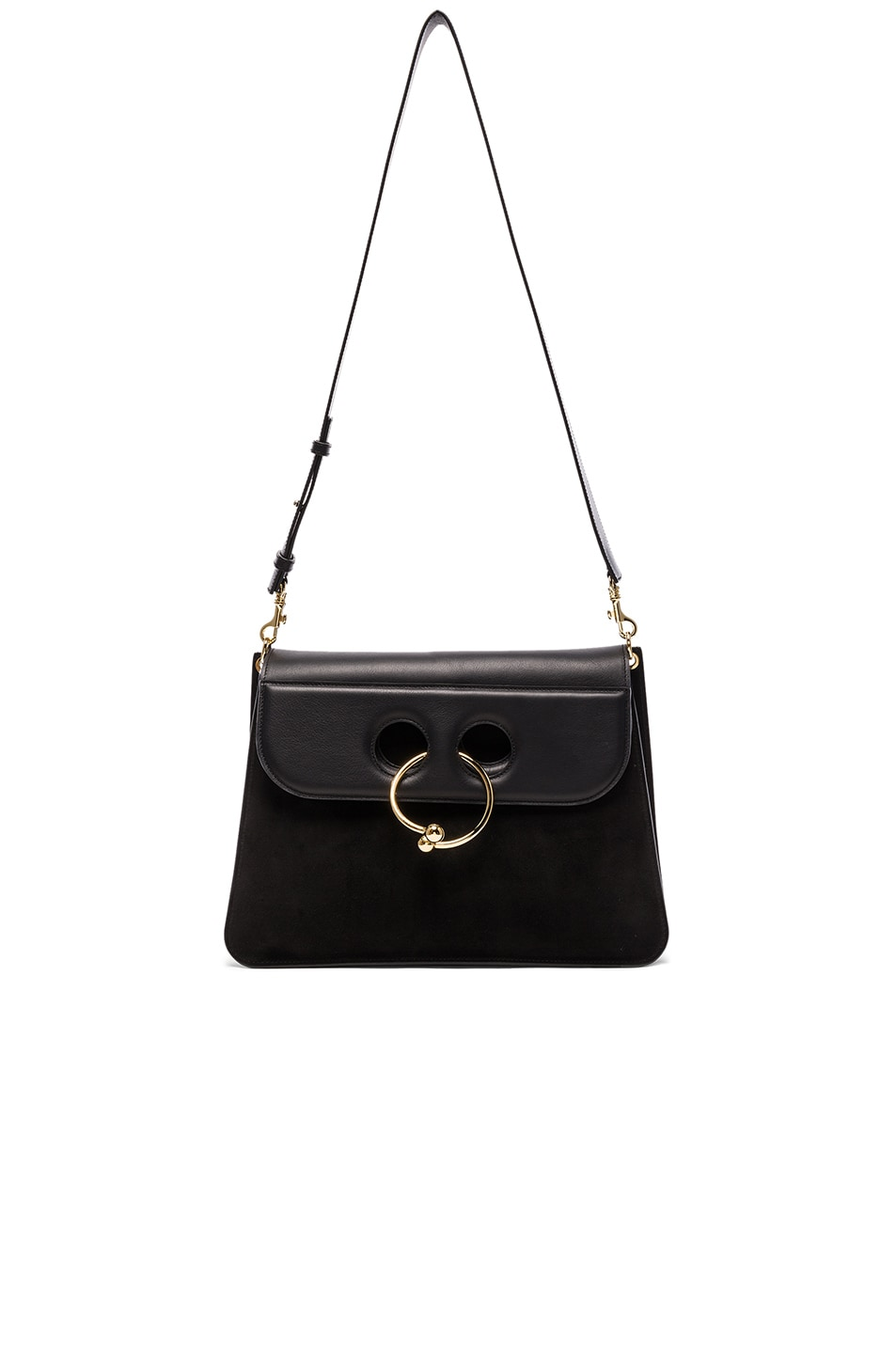 Image 1 of J.W. Anderson Large Pierce Bag in Black