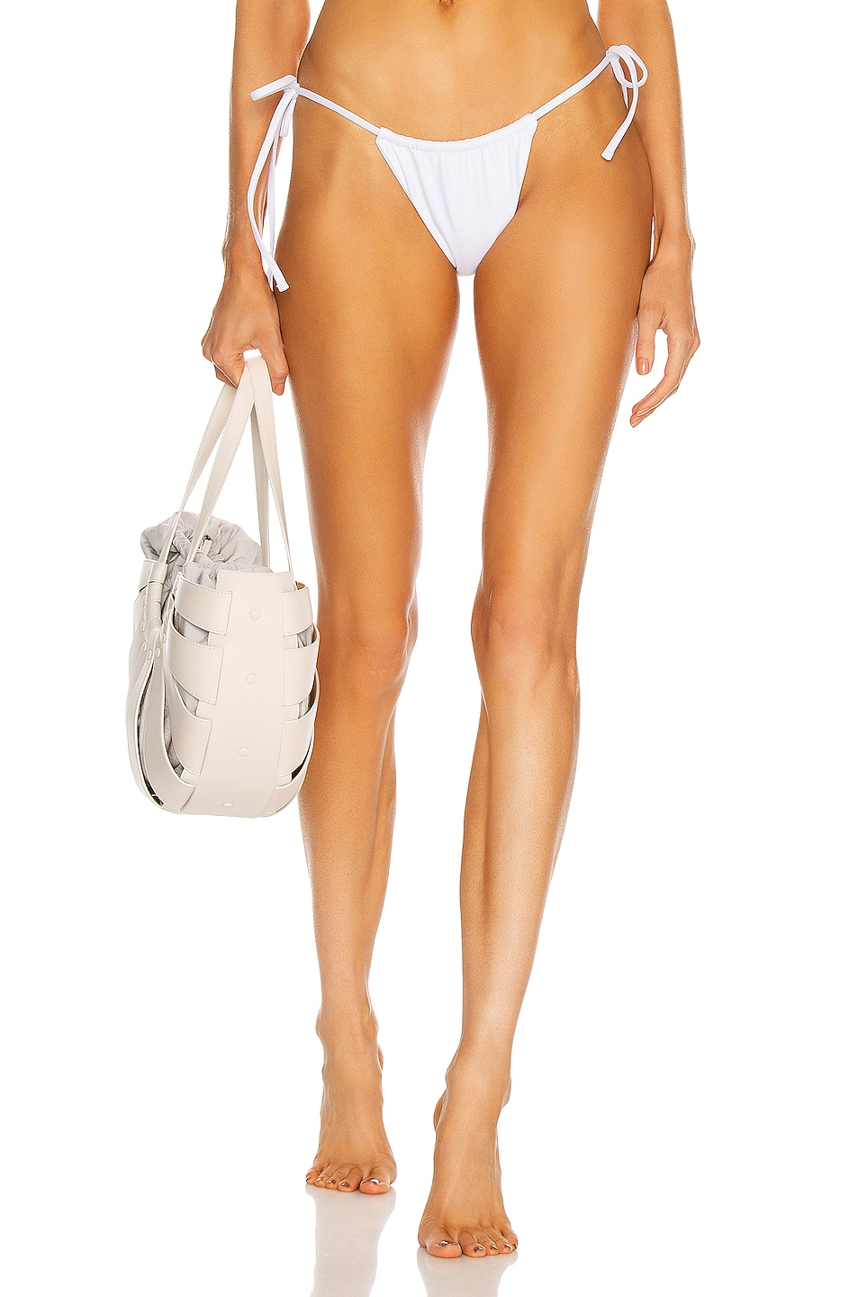 Image 1 of JADE SWIM Lana Bottom in White