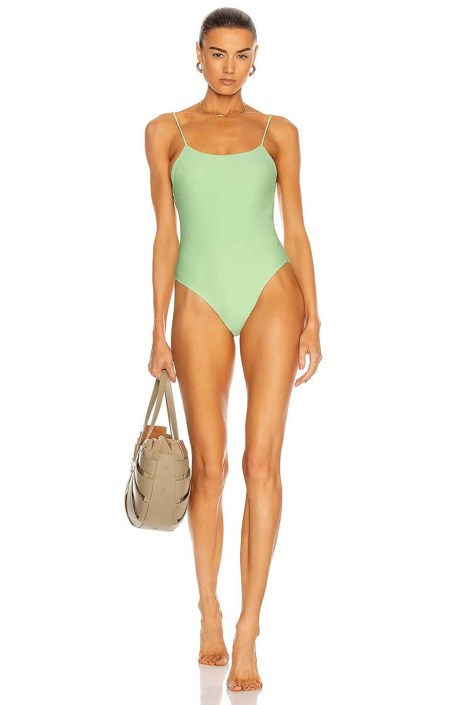 Image 1 of JADE SWIM Trophy One Piece in Cactus