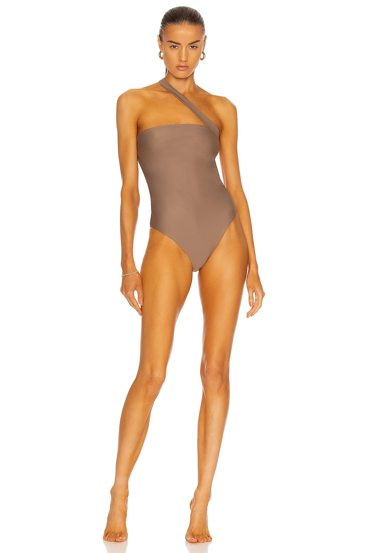 Image 1 of JADE SWIM Halo One Piece Swimsuit in Nude