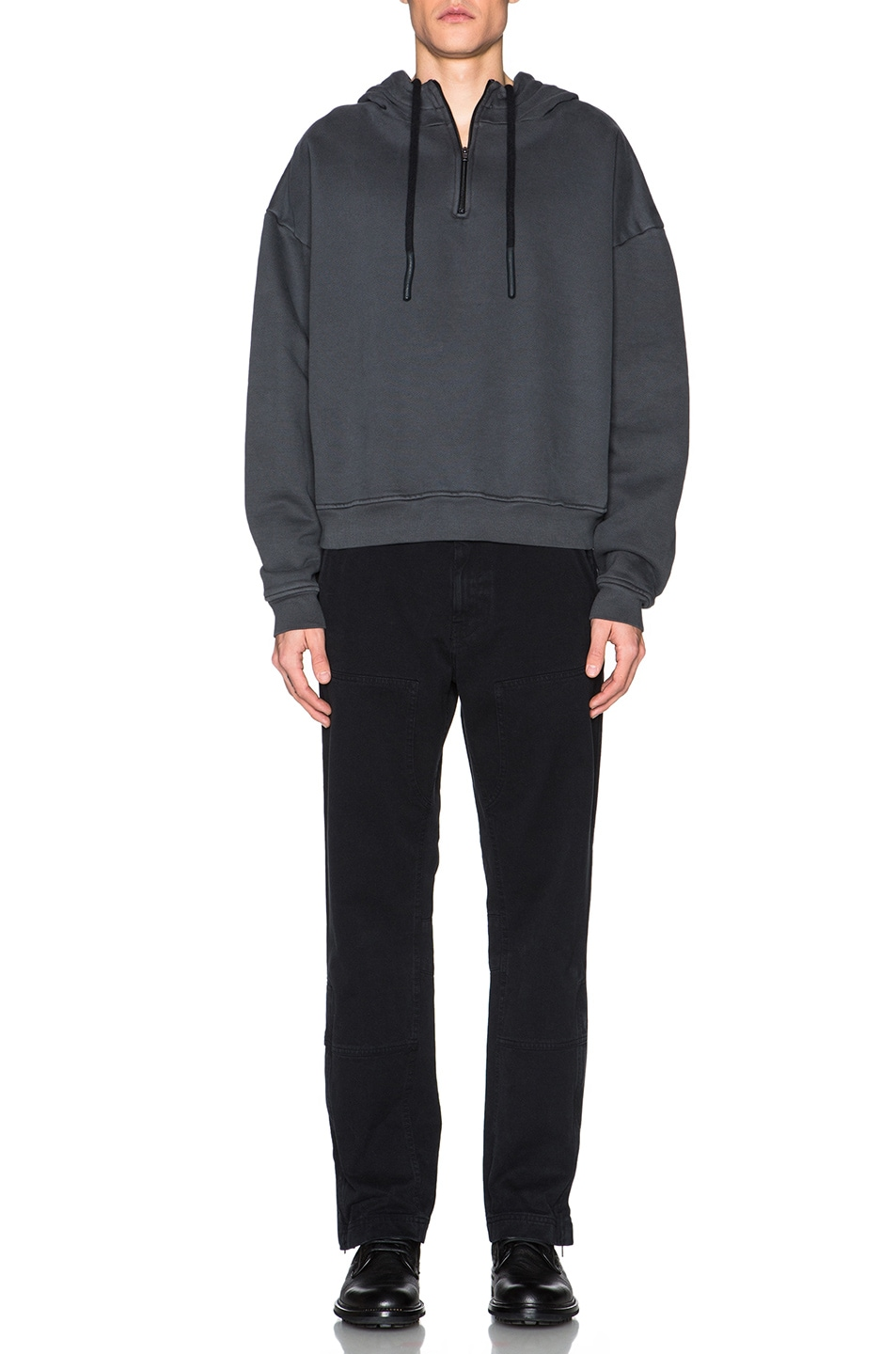 9356392232644 Image 5 of Kanye West x Adidas Originals Worker Pants in Caviar