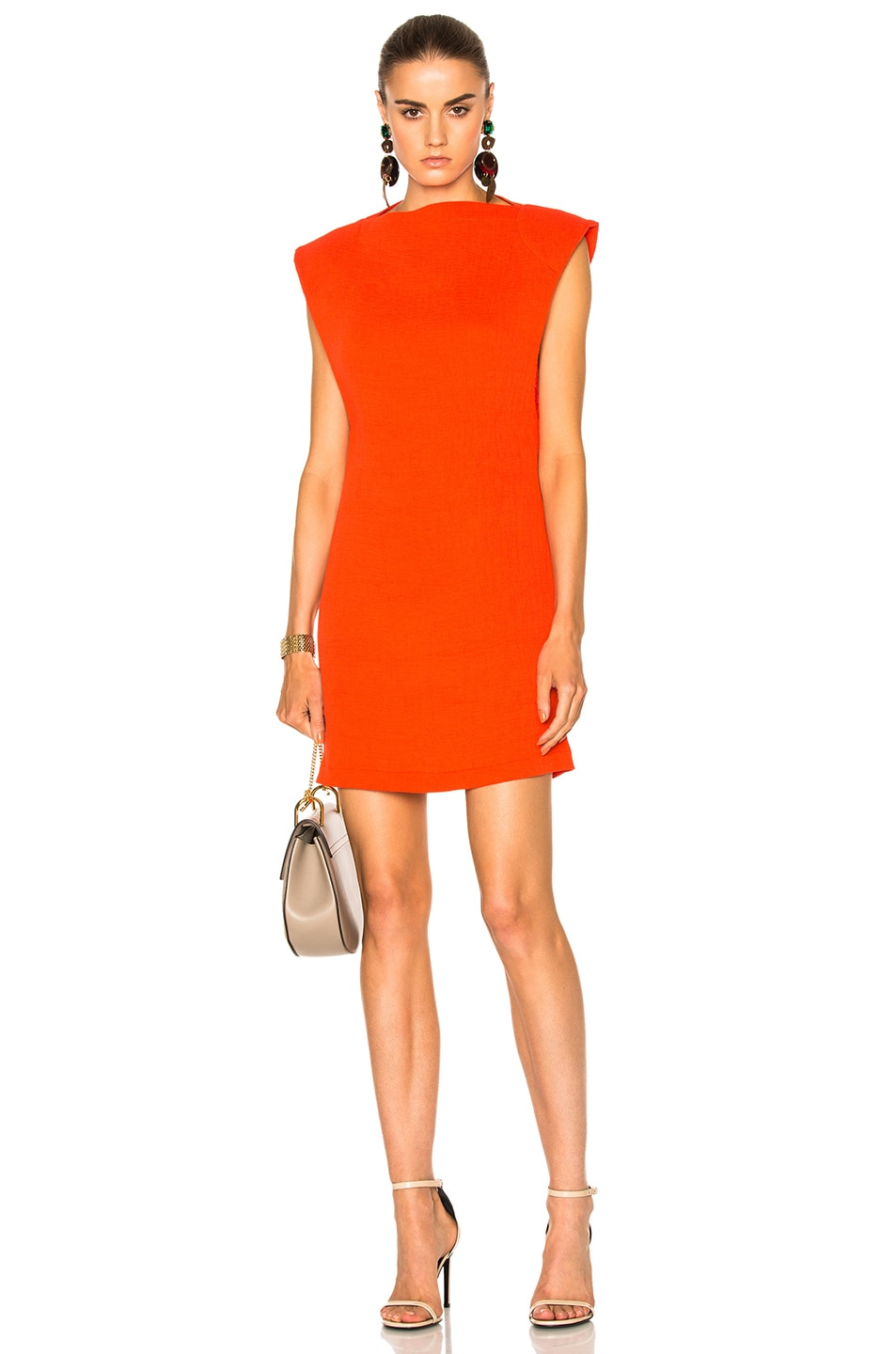 Image 1 of Kate Sylvester Roxanne Mini Dress in Poppy